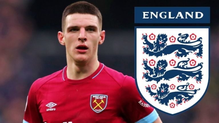Declan Rice set to start for England against Czech Republic