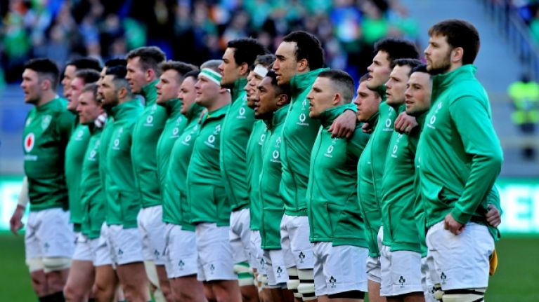 Two uncapped players in 44-man Ireland World Cup training squad