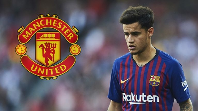 "Philippe Coutinho ""has spoken with Manchester United players"" about potential transfer"