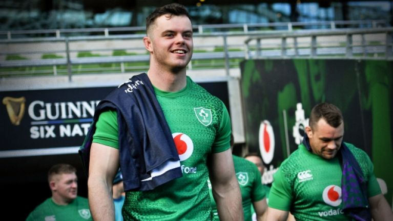 James Ryan delivers 299-word interview after lumping France out of it