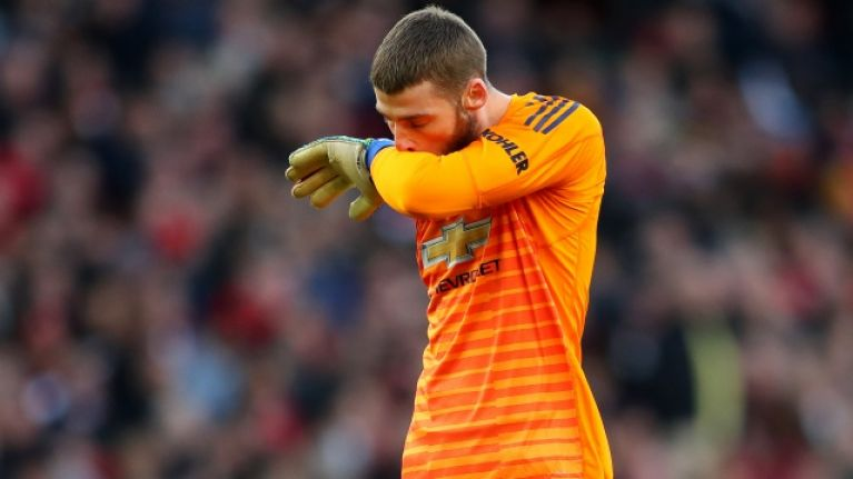 Ole Gunnar Solskjaer explains why he doesn't blame De Gea for Arsenal opener
