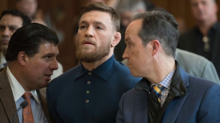 Conor McGregor completes community service at Brooklyn churches