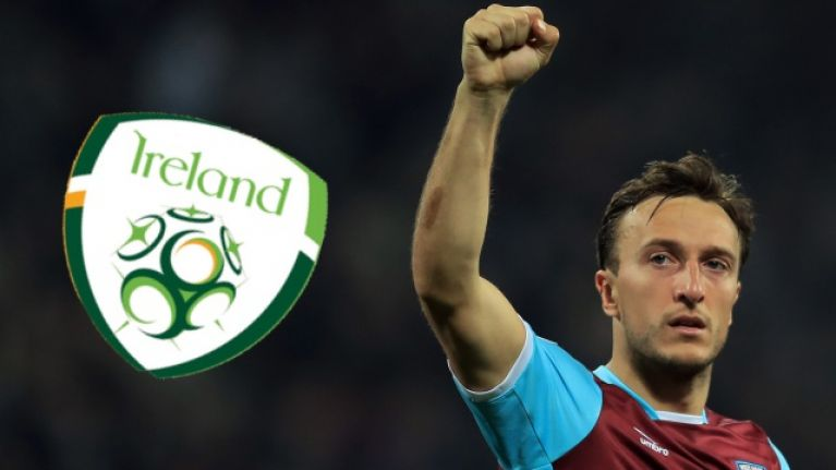 Mark Noble reveals why he turned down chance to represent Republic of Ireland