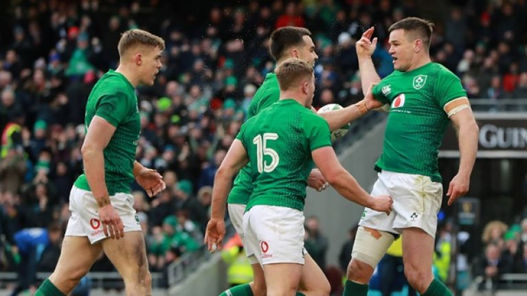 Six Irish players make Midi-Olympique's Six Nations team of the week