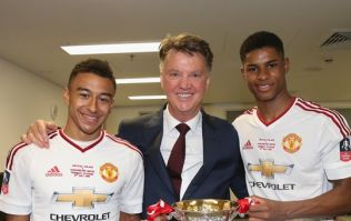 Manchester United players pay tribute to Louis van Gaal