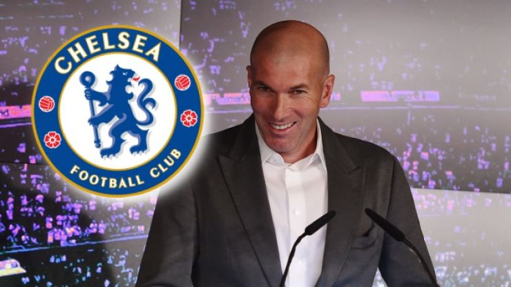 Zinedine Zidane shopping in Chelsea for first Real Madrid transfer