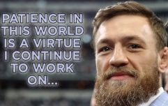 Conor McGregor takes to social media following release