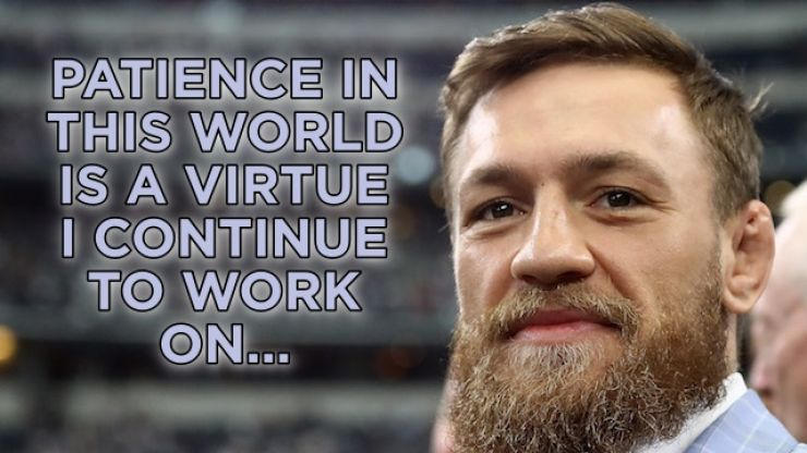 Conor McGregor takes to social media following release