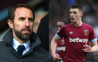 Declan Rice called up to England squad