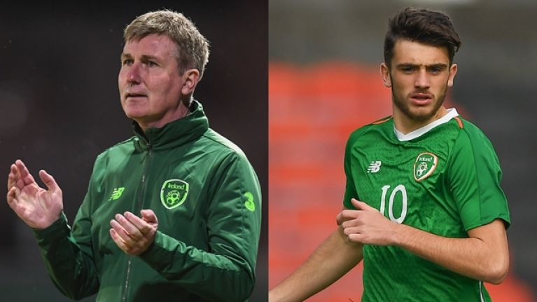 Stephen Kenny names exciting Ireland Under 21 squad