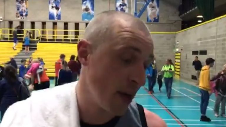 Kieran Donaghy pumped after Tralee comeback brings the house down in UCD
