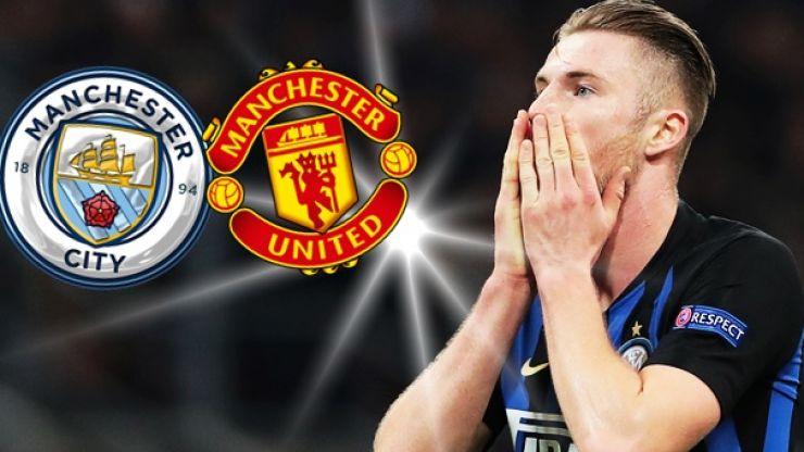 Manchester United to battle City for '€100 million' Inter Milan defender