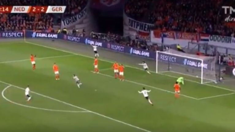 92eac31024b Reus and Gundogan cut Holland open as Nico Schulz steals late winner for  Germany