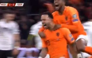 Memphis Depay scores again for Holland as amazing national form continues