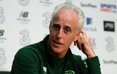 """""""I might take a tennis racket with me"""" - Mick McCarthy on rumours of fan protest at Georgia game"""