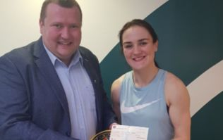 'I couldn't believe she'd auction her belt off just to raise funds for me'