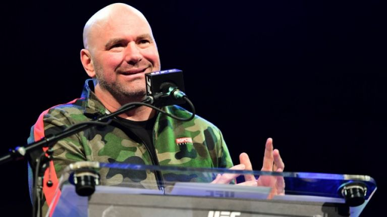 Dana White insists 165lbs division won't be introduced while he's in charge