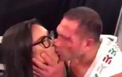 Kubrat Pulev suspended after 'forcibly' kissing reporter