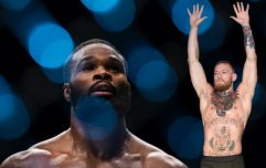 After losing welterweight title, Tyron Woodley makes pitch for red panty night