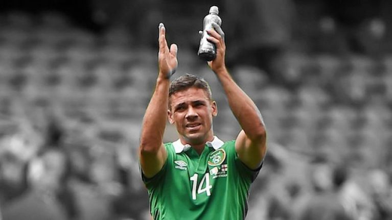 """Thank you for allowing me to pull on that green jersey and play in front of you"" - Jon Walters"