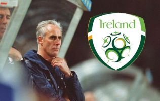 Can you name the starting XI from Mick McCarthy's last match as Ireland manager?