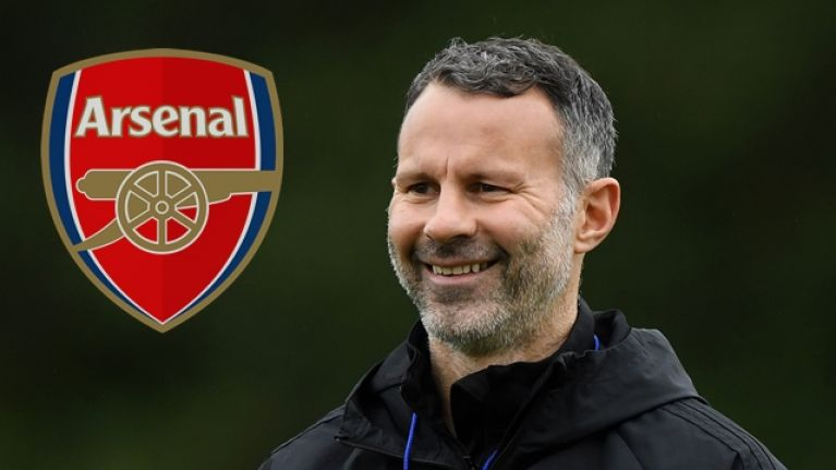 Ryan Giggs explains his 'intense dislike' for four former Arsenal players