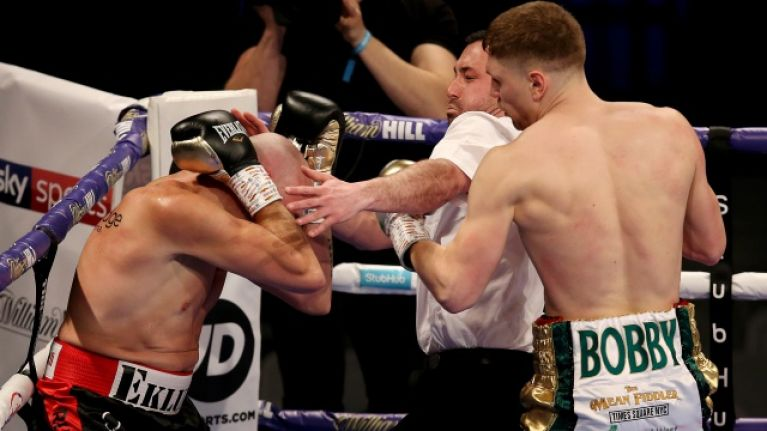 Donegal's Jason Quigley proves himself levels above opponent with second-round TKO