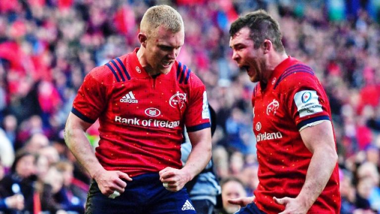 Bryan Habana with some lovely comments on Keith Earls after man of the match confusion