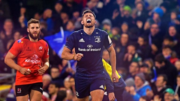 Ross Byrne comes of age with biggest call of his career to date