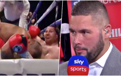 "Tony Bellew ""disgusted"" as British boxer disqualified for biting opponent"