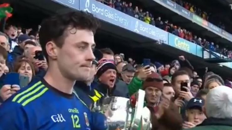 Last line of Diarmuid O'Connor's winning speech sums this Mayo team up