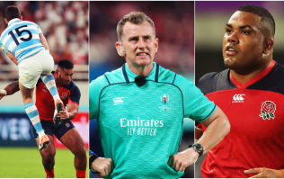 Nigel Owens lets Kyle Sinckler and Manu Tuilagi away with two borderline tackles