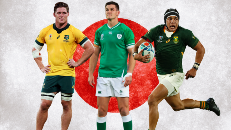 Johnny Sexton the only Irish player to make World Cup 'Best XV' so far