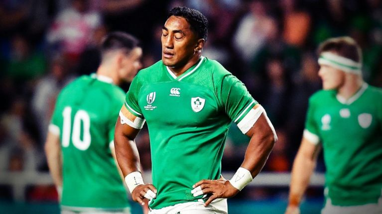 Bundee Aki's World Cup is over as tough red card punishment handed down