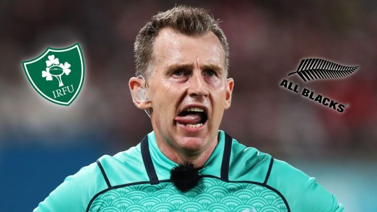 Ireland need to play Nigel Owens, as well as New Zealand