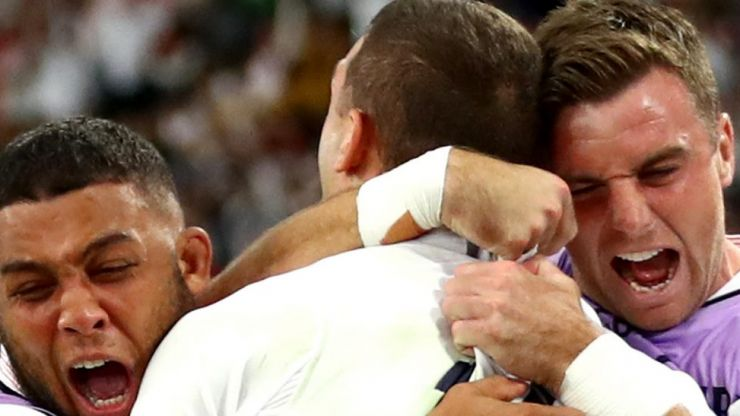 WATCH: England stroll into semifinals with 40-16 victory over Australia in RWC 2019