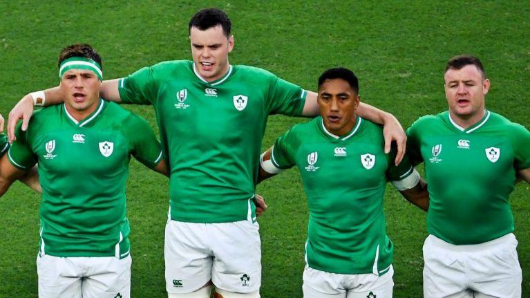 No Kearney or O'Mahony as Ireland name team to face Samoa
