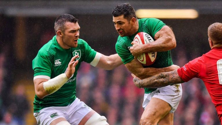 Absence of Rob Kearney and Peter O'Mahony from Ireland team explained