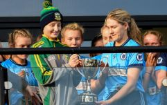 """For Aoife to hand me the cup, it was brilliant, we all support her"""