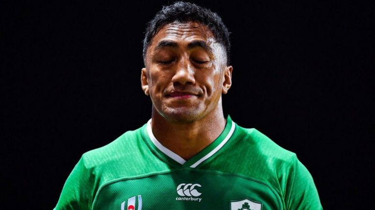 What the referee said as Bundee Aki was sent off against Samoa