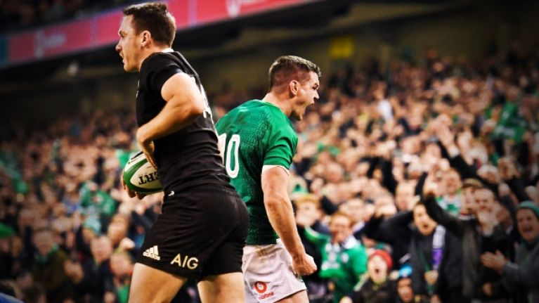 Details of Ireland's World Cup quarter final with New Zealand confirmed