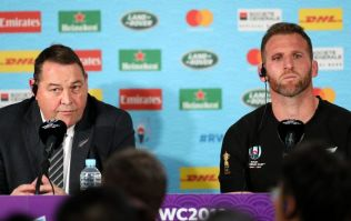 One question in New Zealand's post-match conference rattled Steve Hansen