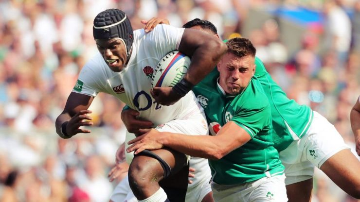 Combined Ireland and England XV shows how much has changed in nine months