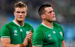 Final tournament rankings for Ireland's World Cup squad