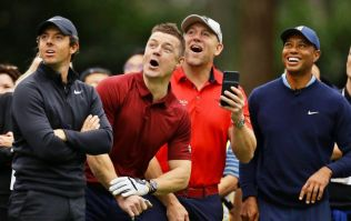 Brian O'Driscoll mistaken for Mike Tindall after draining monster birdie putt