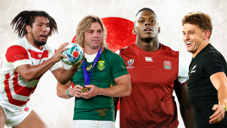 House of Rugby team agree on seven players in World Cup 'Best XV'