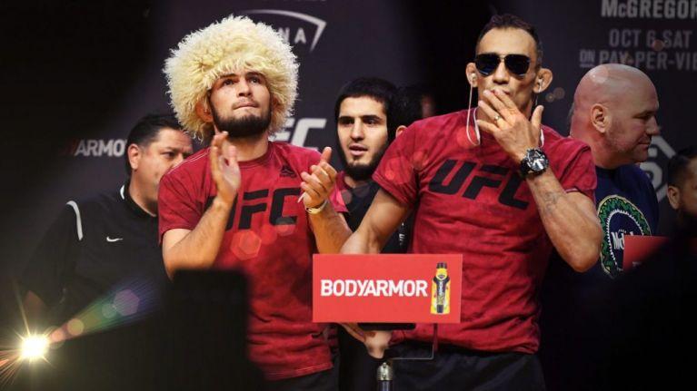 Khabib Nurmagomedov set for Tony Ferguson title fight in New York