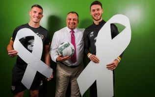 Irish footballers to show support for White Ribbon Day