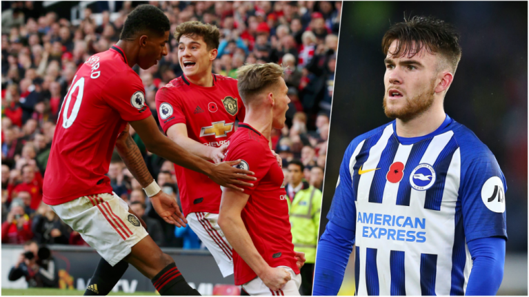 Aaron Connolly lasts only 45 minutes as Man United torment Brighton