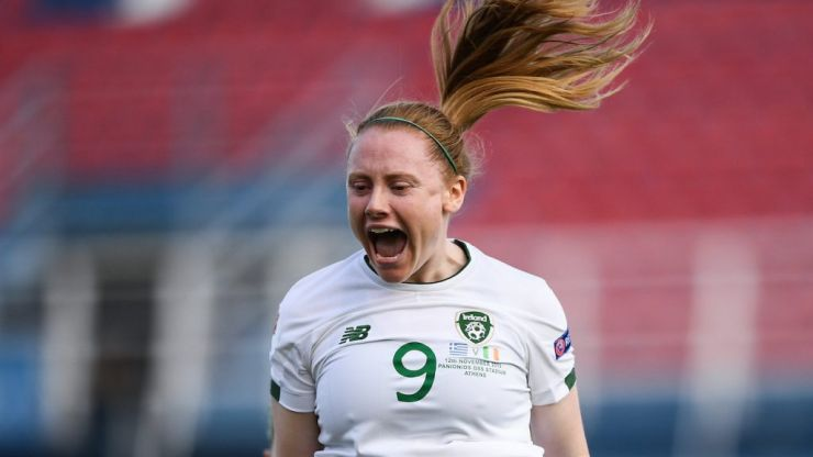 Delicious Amber Barrett finish cancelled out by late Greece equaliser